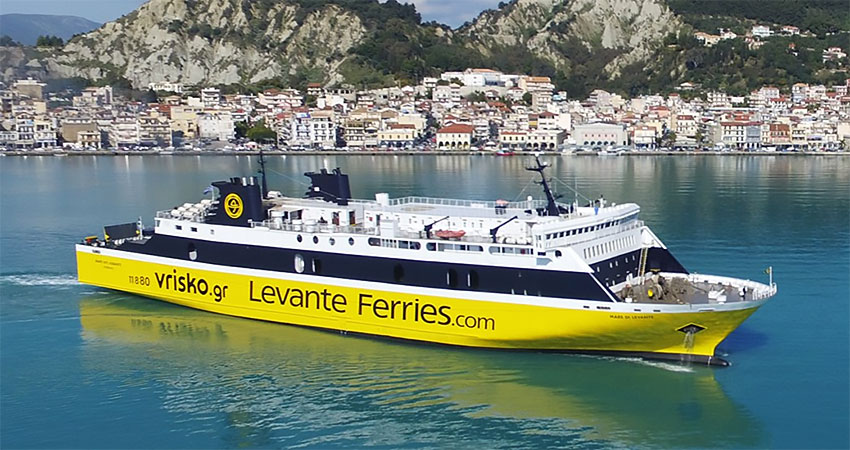 how to reach zakynthos zante by ferry